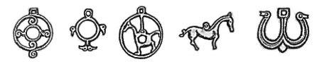Khazarian  Tengrist amulets