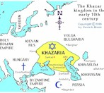 Map of the Khazar Kaganate